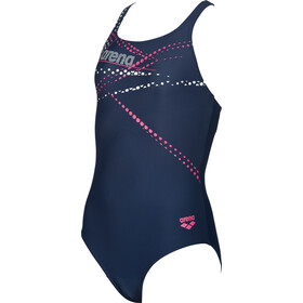 arena Glimmer One Piece Swimsuit Girls navy-aphrodite